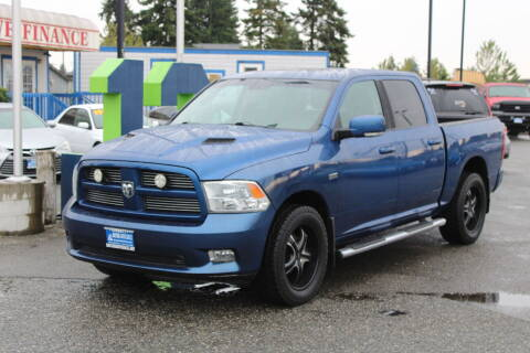 2011 RAM Ram Pickup 1500 for sale at BAYSIDE AUTO SALES in Everett WA