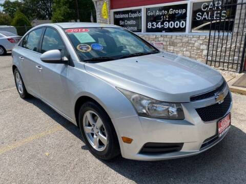 2014 Chevrolet Cruze for sale at GOL Auto Group in Austin TX