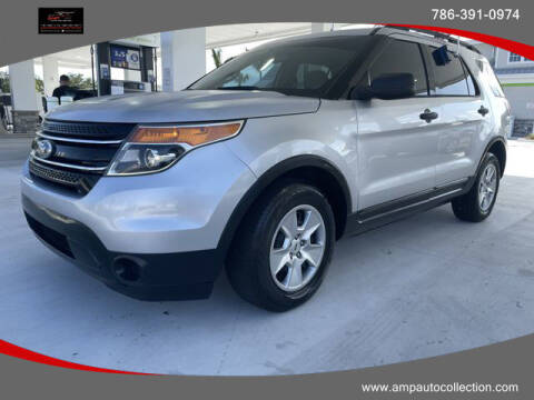 2013 Ford Explorer for sale at Amp Auto Collection in Fort Lauderdale FL