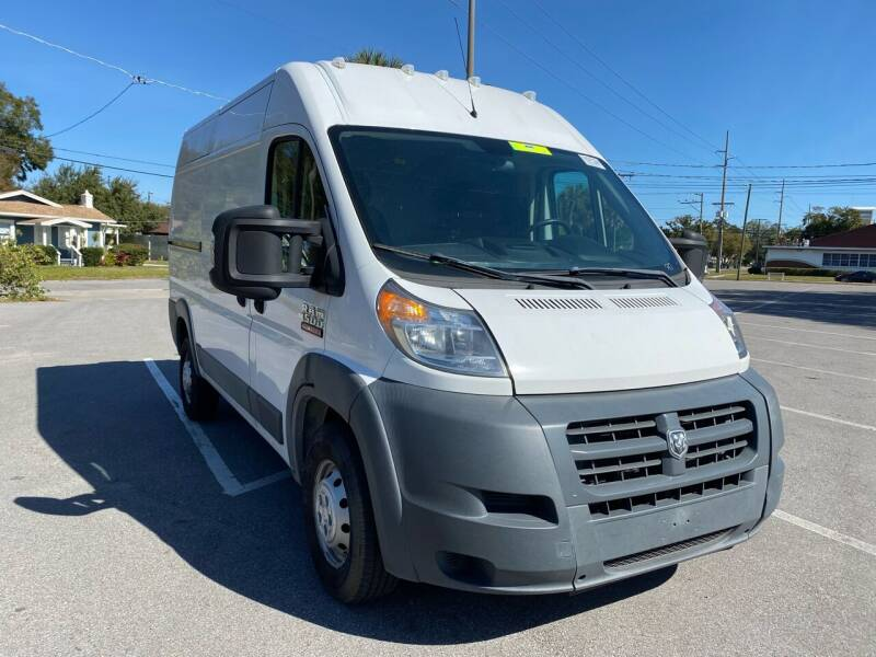 2016 RAM ProMaster Cargo for sale at LUXURY AUTO MALL in Tampa FL
