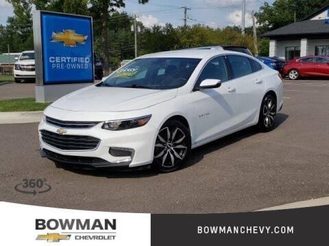 2018 Chevrolet Malibu for sale at Bowman Auto Center in Clarkston MI