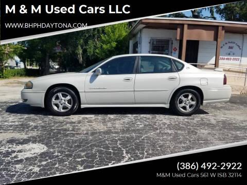 2004 Chevrolet Impala for sale at M & M Used Cars LLC in Daytona Beach FL