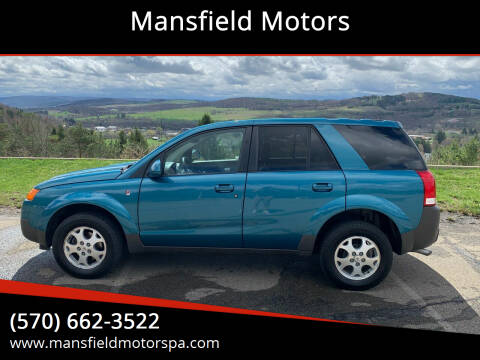 2005 Saturn Vue for sale at Mansfield Motors in Mansfield PA