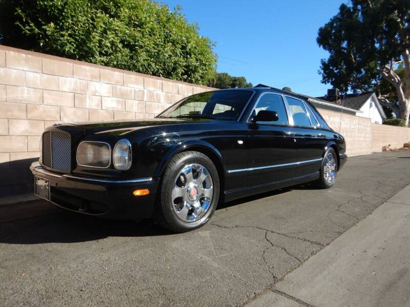 2001 Bentley Arnage for sale at California Cadillac & Collectibles in Los Angeles CA