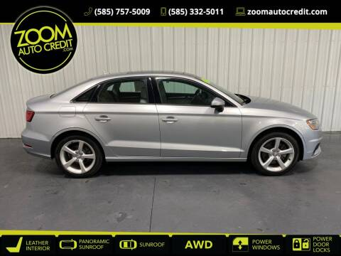2015 Audi A3 for sale at ZoomAutoCredit.com in Elba NY