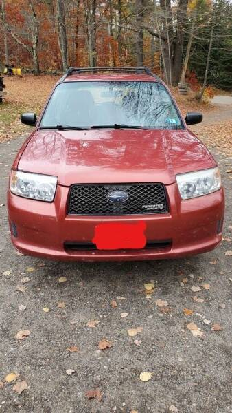 2007 Subaru Forester for sale at Route 28 Auto Sales in Canton MA