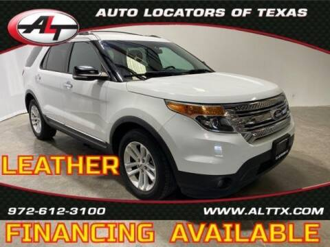 2013 Ford Explorer for sale at AUTO LOCATORS OF TEXAS in Plano TX
