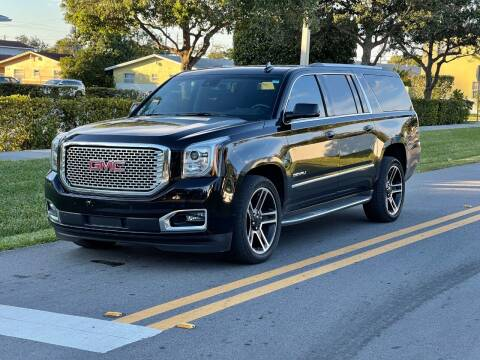 2016 GMC Yukon XL for sale at GTR Motors in Davie FL