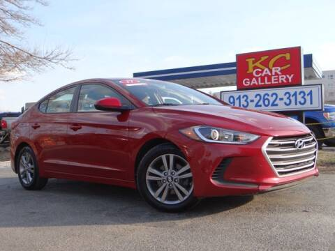 2017 Hyundai Elantra for sale at KC Car Gallery in Kansas City KS