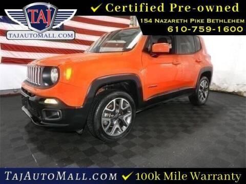 2017 Jeep Renegade for sale at Taj Auto Mall in Bethlehem PA
