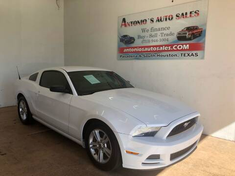 2014 Ford Mustang for sale at Antonio's Auto Sales - Antonio`s  3001 in Pasadena TX