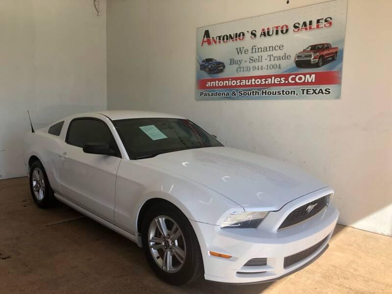 2014 Ford Mustang for sale at Antonio's Auto Sales - Antonio`s  3001 in Pasadena TX