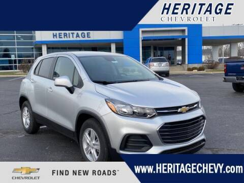 2021 Chevrolet Trax for sale at HERITAGE CHEVROLET INC in Creek MI