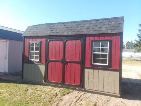 2021 BMB PORTABLE BUILDING'S 10x16 SIDE LOFTED BARN for sale at Dave's Auto Sales & Service in Weyauwega WI