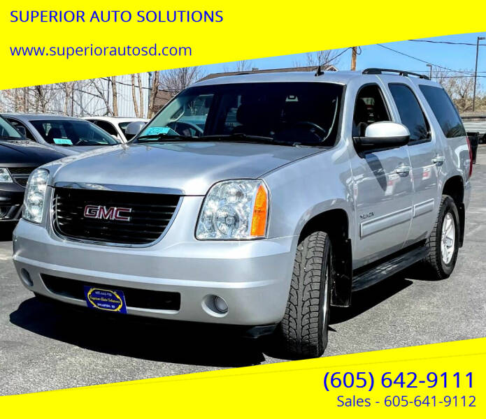 2014 GMC Yukon for sale at SUPERIOR AUTO SOLUTIONS in Spearfish SD