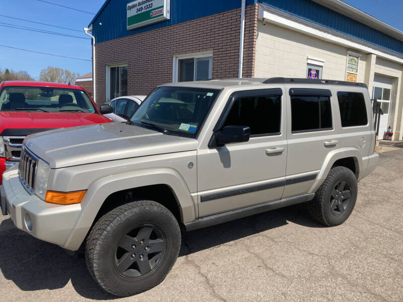 2007 Jeep Commander for sale at Ogden Auto Sales LLC in Spencerport NY