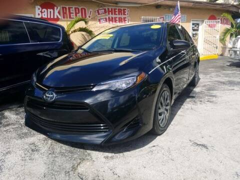 2018 Toyota Corolla for sale at VALDO AUTO SALES in Miami FL