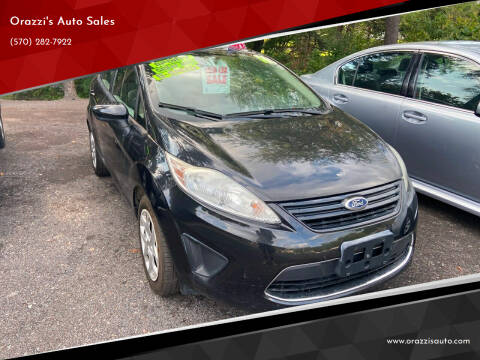 2011 Ford Fiesta for sale at Orazzi's Auto Sales in Greenfield Township PA