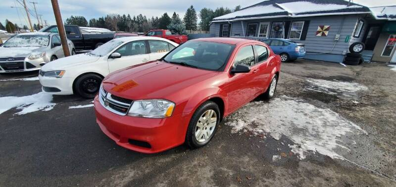 2013 Dodge Avenger for sale at MGM Auto Sales in Cortland NY