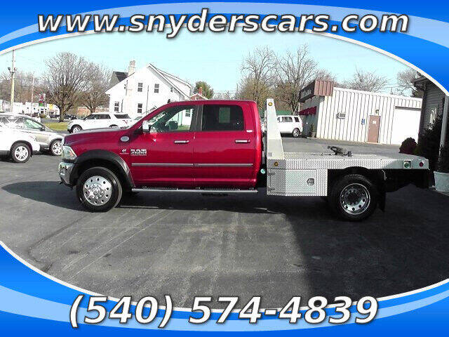 2015 RAM Ram Chassis 4500 for sale at Snyders Auto Sales in Harrisonburg VA