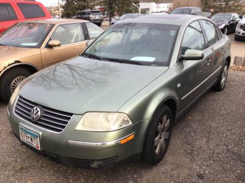 2003 Volkswagen Passat for sale at Sparkle Auto Sales in Maplewood MN