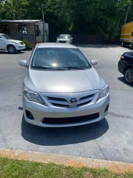 2012 Toyota Corolla for sale at D & D Auto Sales in Valdosta GA