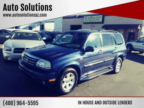 2001 Suzuki XL7 for sale at Auto Solutions in Mesa AZ