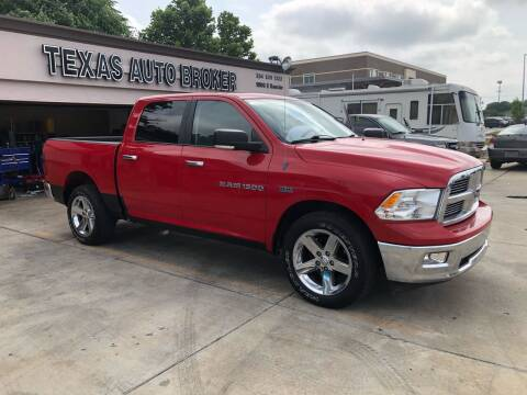 2011 RAM Ram Pickup 1500 for sale at Texas Auto Broker in Killeen TX