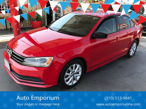 2015 Volkswagen Jetta for sale at Auto Emporium in Wilmington CA