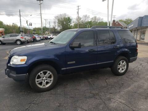 2006 Ford Explorer for sale at COLONIAL AUTO SALES in North Lima OH