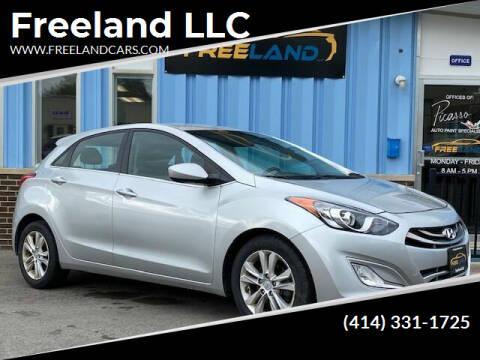 2014 Hyundai Elantra GT for sale at Freeland LLC in Waukesha WI