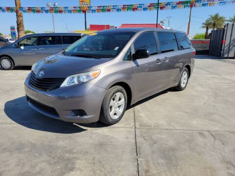 2017 Toyota Sienna for sale at A AND A AUTO SALES in Gadsden AZ