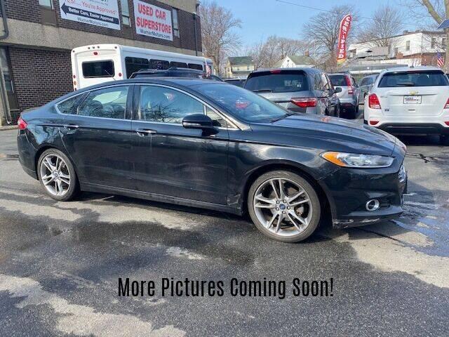 2013 Ford Fusion for sale at Warner Motors in East Orange NJ