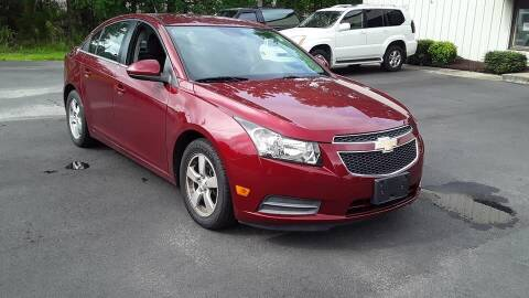 2014 Chevrolet Cruze for sale at BEST BUY AUTO SALES in Thomasville NC