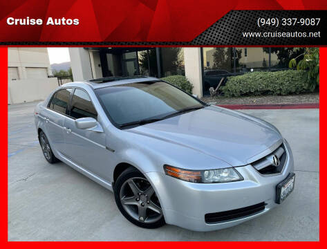 2005 Acura TL for sale at Cruise Autos in Corona CA