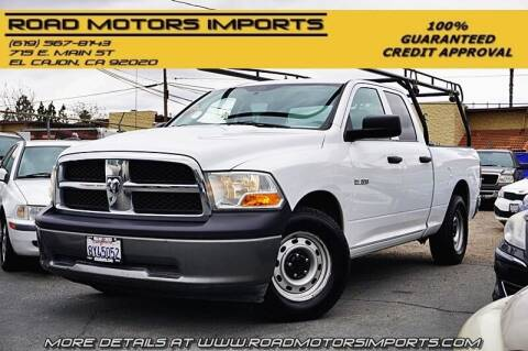 2010 Dodge Ram Pickup 1500 for sale at Road Motors Imports in El Cajon CA