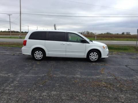 2017 Dodge Grand Caravan for sale at Kevin's Motor Sales in Montpelier OH