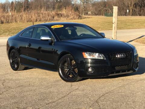 2010 Audi S5 for sale at Summit Auto & Cycle in Zumbrota MN