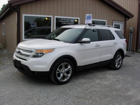 2013 Ford Explorer for sale at Greg Vallett Auto Sales in Steeleville IL