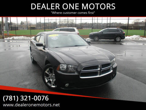 2014 Dodge Charger for sale at DEALER ONE MOTORS in Malden MA