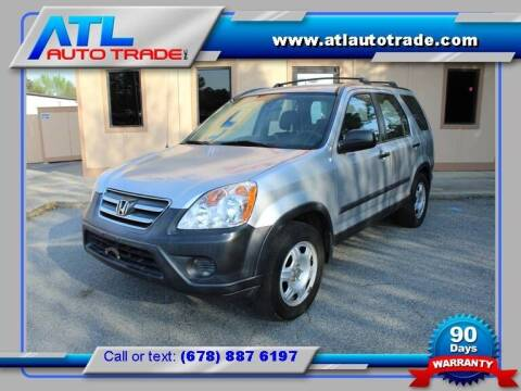2005 Honda CR-V for sale at ATL Auto Trade, Inc. in Stone Mountain GA