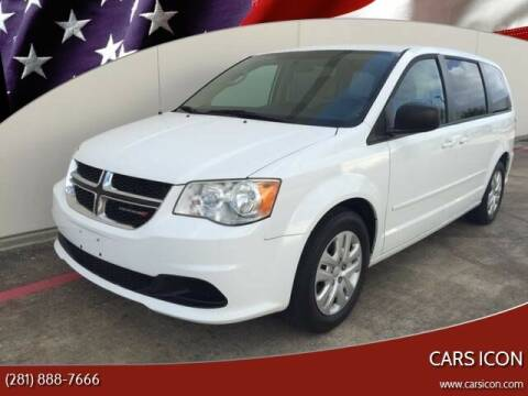 2014 Dodge Grand Caravan for sale at CARS ICON INC in Houston TX