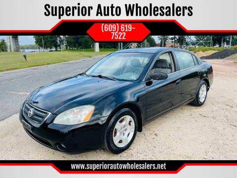 2003 Nissan Altima for sale at Superior Auto Wholesalers in Burlington NJ