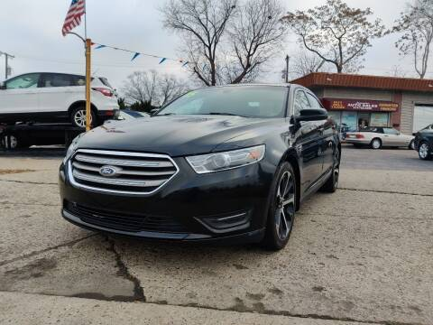 2015 Ford Taurus for sale at Lamarina Auto Sales in Dearborn Heights MI