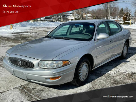 2002 Buick LeSabre for sale at Klean Motorsports in Skokie IL