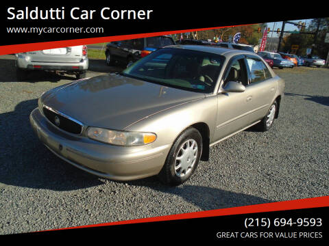 2003 Buick Century for sale at Saldutti Car Corner in Gilbertsville PA