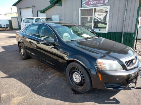 2012 Chevrolet Caprice for sale at Paulson Auto Sales in Chippewa Falls WI