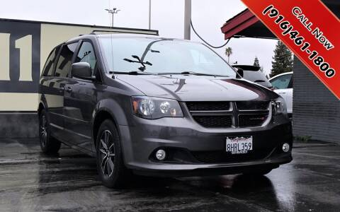 2017 Dodge Grand Caravan for sale at H1 Auto Group in Sacramento CA