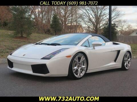 2008 Lamborghini Gallardo for sale at Absolute Auto Solutions in Hamilton NJ