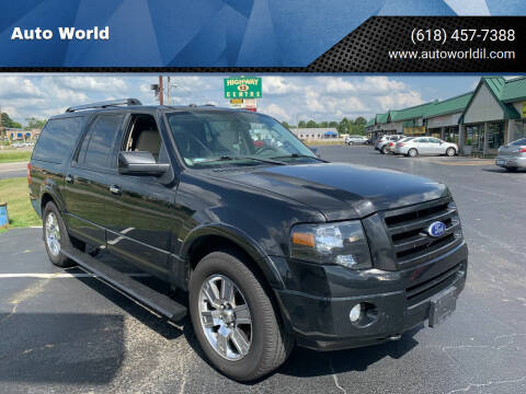 2010 Ford Expedition EL for sale at Auto World in Carbondale IL